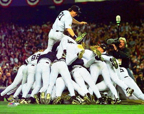 New York Yankees 1996 World Series Victory Celebration Premium Poster Print - Photofile Inc.