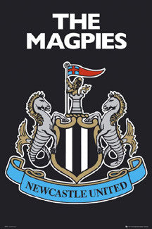 Newcastle United Official Club Crest Poster - GB Eye (UK)