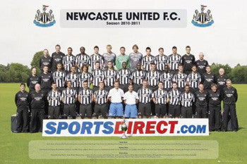 Newcastle United FC 2010/11 Official Team Portrait Poster - GB Eye (UK)