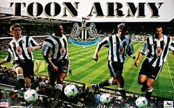 "Newcastle ""Toon Army"" - Starline Inc. 1996"