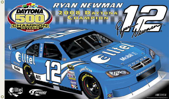 "Ryan Newman ""Daytona 2008 Champion"" 3'x5' Flag - BSI"