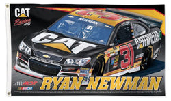 Ryan Newman NASCAR #31 Caterpillar Official HUGE 3'x5' Commemorative Flag - Wincraft