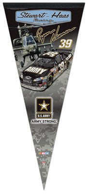 "Ryan Newman ""Army Strong"" EXTRA-LARGE Premium Felt Pennant"