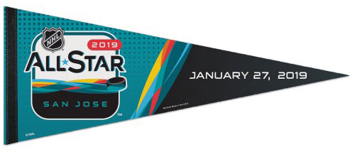NHL All-Star Game 2019 (San Jose) Official Premium Felt Collector's Pennant - Wincraft