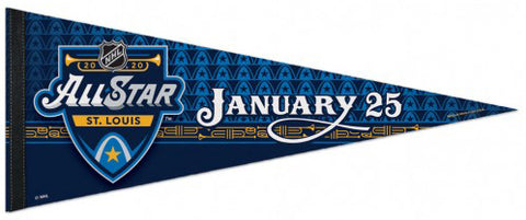 NHL All-Star Game 2020 (St. Louis) Official Premium Felt Collector's Pennant - Wincraft