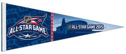 NHL All-Star Game 2015 Columbus Official Premium Felt Collector's Pennant - Wincraft
