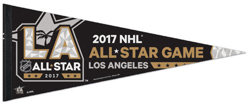 NHL All-Star Game L.A. 2017 Official Premium Felt Collector's Pennant - Wincraft