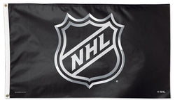 Official NHL HOCKEY Shield Logo DELUXE 3' x 5' Flag - Wincraft Inc.