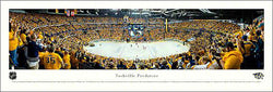 Nashville Predators 2012 NHL Playoffs Panoramic Poster Print - Blakeway