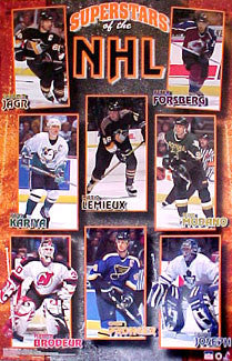 """Superstars of the NHL"" - Starline 2001"