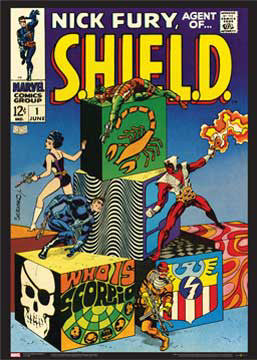 Nick Fury, Agent of S.H.I.E.L.D #1 (June 1968) Marvel Comics Official Cover Poster Print