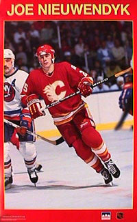 "Joe Nieuwendyk ""Rookie"" - Starline 1988"