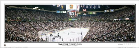 New Jersey Devils Stanley Cup Champions 2000 Panoramic Poster Print - Everlasting Images