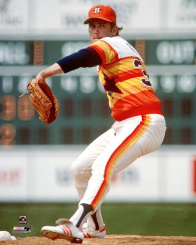 Nolan Ryan Houston Astros Classic (1980) Premium Poster Print - Photofile