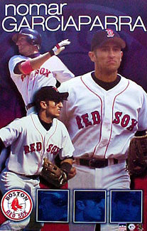 "Nomar Garciaparra ""Ultimate"" Boston Red Sox Poster - Starline 2001"