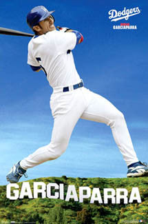 "Nomar Garciaparra ""Hollywood"" Los Angeles Dodgers MLB Action Poster - Costacos 2007"