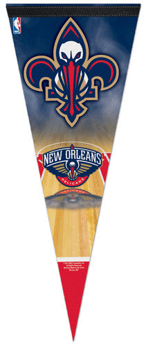 New Orleans Pelicans Dual-Logo NBA Premium Felt Collector's Pennant - Wincraft 2013