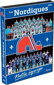 DVD Set: Les Nordiques: Notre Equipe 2-DVD Set French Only