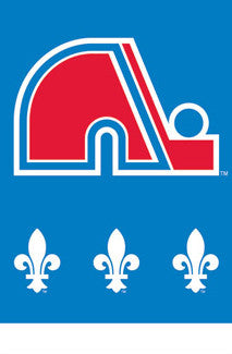 Quebec Nordiques NHL Hockey Official Logo Poster - Costacos 2010