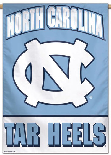North Carolina Tar Heels Official NCAA Team Logo NCAA Premium 28x40 Wall Banner - Wincraft Inc.