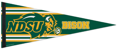 North Dakota State Bison NCAA Team Logo-Style Premium Felt Collector's Pennant - Wincraft Inc.