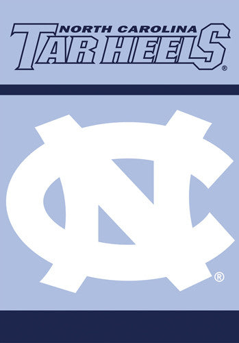 North Carolina Tar Heels Official NCAA 28x40 Premium Banner - BSI Products Inc