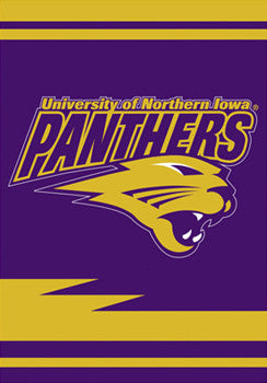 Northern Iowa Panthers Premium Banner Flag - BSI Products