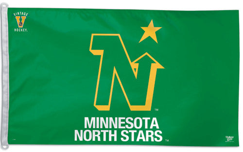 Minnesota North Stars Official NHL Vintage Collection 3'x5' Flag - Wincraft Inc.