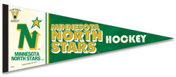 Minnesota North Stars Vintage Hockey Collection Premium Felt Collector's Pennant - WinCraft