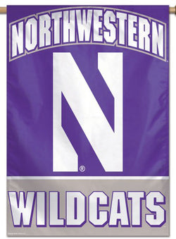 Northwestern University Wildcats Official NCAA Premium 28x40 Wall Banner - Wincraft Inc.