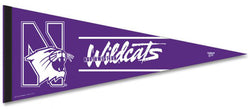 Northwestern University Wildcats Official NCAA Team Logo Premium Felt Pennant - Wincraft Inc.