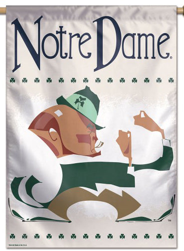 Notre Dame Fighting Irish College Vault Collection Premium Wall Banner Flag - Wincraft Inc.
