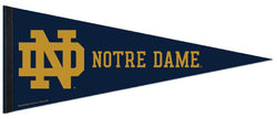 Notre Dame Fighting Irish Official NCAA Team Logo Premium Felt Pennant - Wincraft Inc.