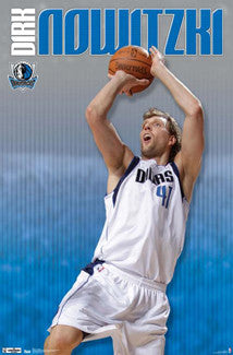 "Dirk Nowitzki ""Icon"" Dallas Mavericks Poster - Costacos 2012"