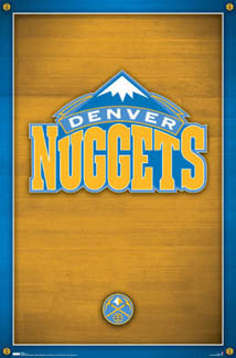 Denver Nuggets Team Logo Poster - Costacos 2007