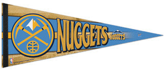 Denver Nuggets Basketball Premium Felt Pennant - Wincraft Inc