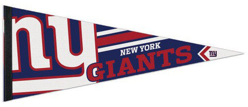 New York Giants NFL Football Official Logo-Style Premium Felt Pennant - Wincraft Inc.