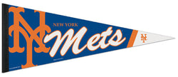 New York Mets Official MLB Baseball Team Logo-Style Premium Felt PENNANT - Wincraft Inc.