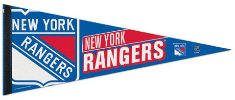 New York Rangers Official NHL Hockey Premium Felt Pennant - Wincraft Inc.