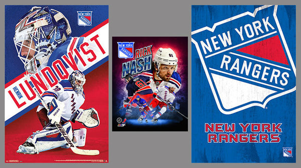 New York Rangers Hockey 3-POSTER COMBO SPECIAL