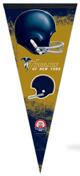 New York Titans (Jets) AFL 1960-62 Throwback EXTRA-LARGE Premium Pennant