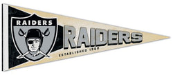 Oakland Raiders NFL Retro-1960s-Style Premium Felt Collector's Pennant - Wincraft Inc.
