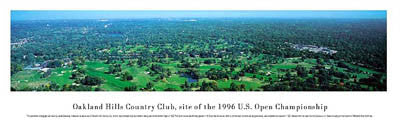 Oakland Hills Country Club Panorama - Blakeway Worldwide