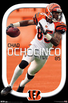 "Chad Ochocinco ""Smooth"" Cincinnati Bengals Poster - Costacos 2010"