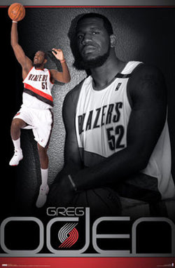 Greg Oden Portland Trail Blazers Official NBA Basketball Poster - Costacos 2008