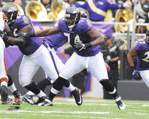 "Michael Oher ""Protector"" (2010) - Photofile 16x20"