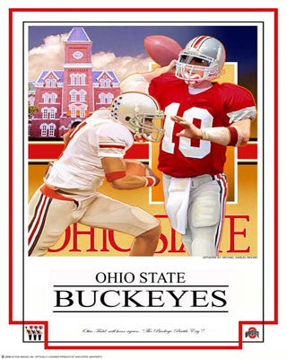 "Ohio State Buckeyes ""Battle Cry"" - Action Images 2008"