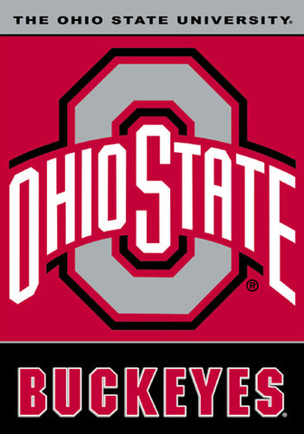 The Ohio State University Buckeyes Official 28x40 NCAA Premium Team Banner - BSI Products