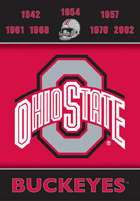 "Ohio State Football ""7-Time Football Champs"" Banner - BSI"
