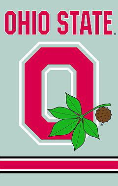 "Ohio State Buckeyes ""O-Nut"" Alternate Logo Banner - Party Animal"